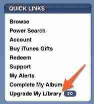 Itunes upgrade songs