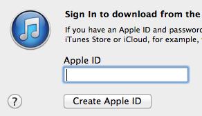 Get an Apple ID