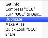 Duplicate the keynote file