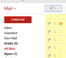 select all mail