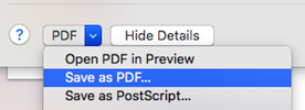 If the files have not merged in preview, you can merge them by printing them to PDF.