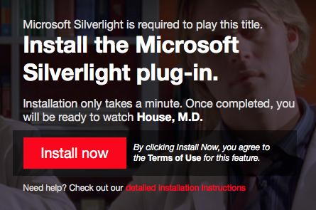 instal silverlight